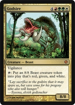 Magic the Gathering Shards of Alara Single Godsire UNPLAYED (NM/MT)