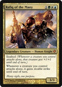 Magic the Gathering Shards of Alara Single Rafiq of the Many Foil