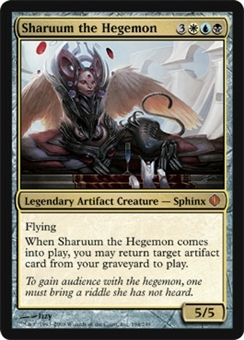 Magic the Gathering Shards of Alara Single Sharuum the Hegemon - NEAR MINT (NM)