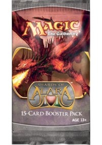 Magic the Gathering Shards of Alara Booster Pack