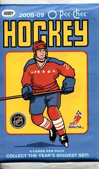 2008/09 Upper Deck O-Pee-Chee Hockey Hobby Pack