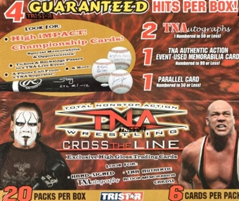 2008 Tristar TNA Cross the Line Wrestling Hobby Box