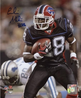 Leodis McKelvin Autographed Buffalo Bills Football 8x10 Photo