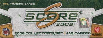 2008 Score Football Factory Set