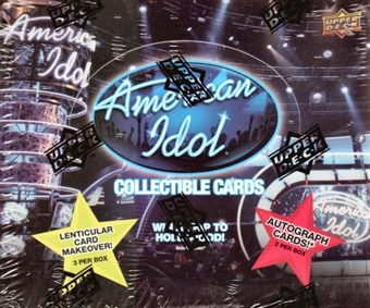 American Idol Hobby Box (2009 Upper Deck)