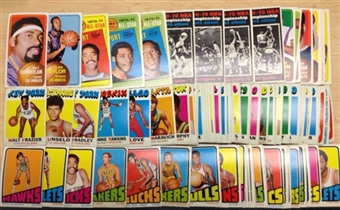 1970/71 71/72 72/73 Topps Basketball 177 Card Lot with Stars