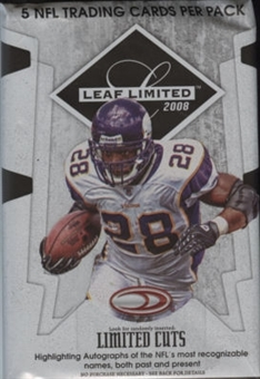 2008 Leaf Limited Football Hobby Pack