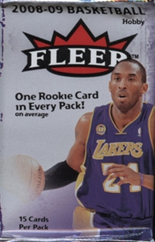 2008/09 Fleer Basketball Hobby Pack