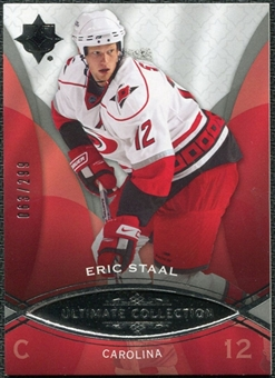 2008/09 Upper Deck Ultimate Collection #6 Eric Staal /299
