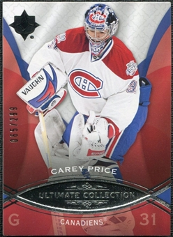 2008/09 Upper Deck Ultimate Collection #19 Carey Price /299