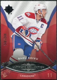 2008/09 Upper Deck Ultimate Collection #20 Saku Koivu /299