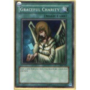 Yu-Gi-Oh SD Pegasus Single Graceful Charity Rare Foil (SDP-040)