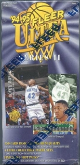 1994/95 Fleer Ultra Series 2 Basketball Prepriced Box