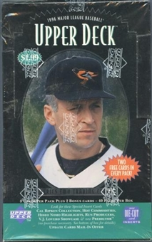1996 Upper Deck Series 2 Baseball Prepriced Box