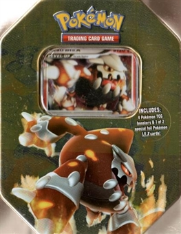 2008 Pokemon Holiday Series 2 Heatran Tin
