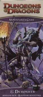 WOTC Dungeons & Dragons Miniatures Demonweb Booster Pack