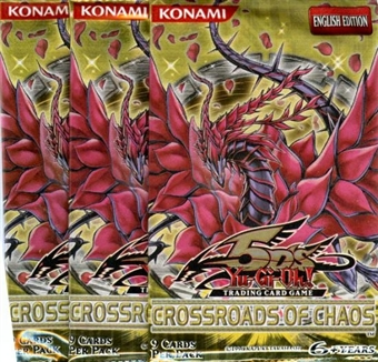 Upper Deck Yu-Gi-Oh Crossroads of Chaos Booster Pack