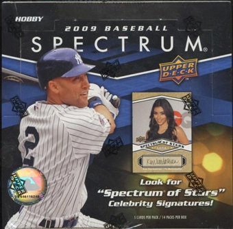 2009 Upper Deck Spectrum Baseball Hobby Box