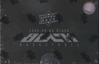 2008/09 Upper Deck Black Basketball Hobby Box