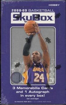 2008/09 Upper Deck Skybox Basketball Hobby Box