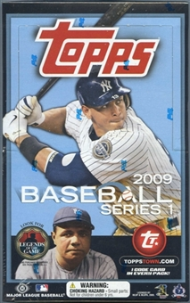 2009 Topps Series 1 Baseball Hobby Box
