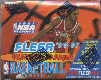 1996/97 Fleer Series 2 Playoff Mania Basketball Box