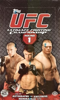 2009 Topps UFC Round One Hobby Box