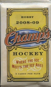 2008/09 Upper Deck NHL Champs Hockey Hobby Pack