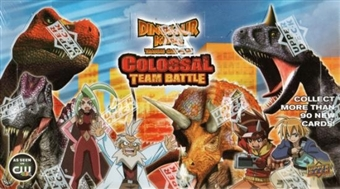 Upper Deck Dinosaur King Series 2 Colossal Team Battle Booster Box