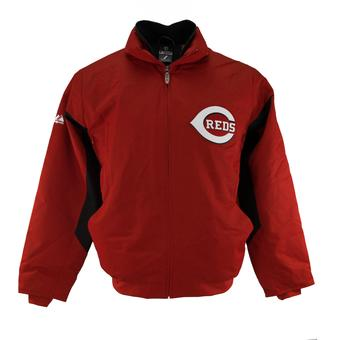 Cincinnati Reds Majestic Red Therma Base Premier Jacket (Adult XXL)