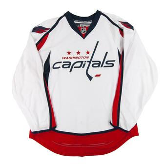 Washington Capitals Reebok Edge White Authentic Jersey (Adult 52)