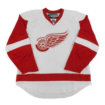 Detroit Red Wings Reebok Edge White Authentic Jersey (Adult 54)