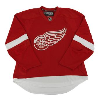 Detroit Red Wings Reebok Edge Red Authentic Jersey (Adult 54)