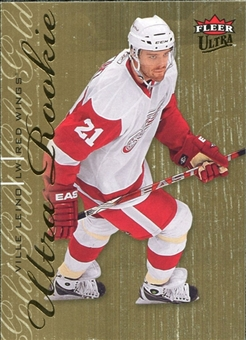 2009/10 Fleer Ultra Gold Medallion #249 Ville Leino RC