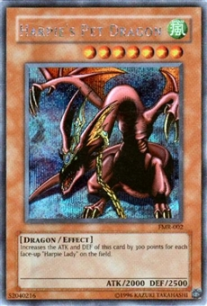 Yu-Gi-Oh Promo Single Harpie's Pet Dragon Secret Rare (FMR-002)