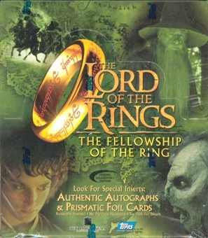 Lord of the Rings Fellowship of the Ring Movie Hobby Box (Topps)