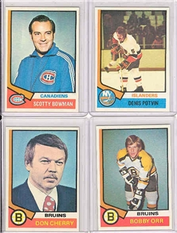 1974/75 Topps Hockey Complete Set (NM-MT)