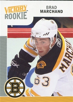 2009/10 Upper Deck Victory #302 Brad Marchand RC
