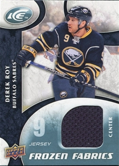 2009/10 Upper Deck Ice Frozen Fabrics #FRDR Derek Roy