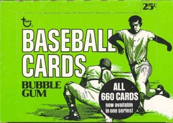 1975 Topps Baseball Cello Box