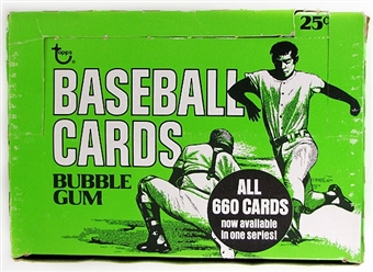 1975 Topps Mini Baseball Cello Box
