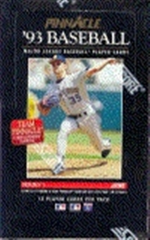 1993 Pinnacle Series 1 Baseball Hobby Box