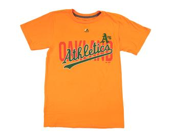 Oakland Athletics Majestic Gold Last Rally Tee Shirt (Adult X-Large)