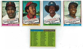 1976 Topps Traded Baseball Complete Set (NM-MT)