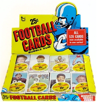 1975 Topps Football Cello Box