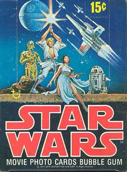 Star Wars 1st Series Wax Box (1977-78 Topps)