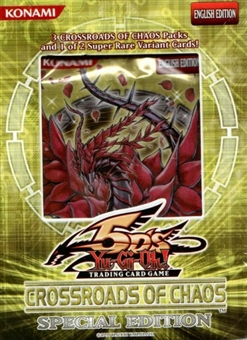 Upper Deck Yu-Gi-Oh Crossroads of Chaos SE Pack