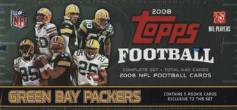 2008 Topps Football Factory Set (Box) (Green Bay Packers)