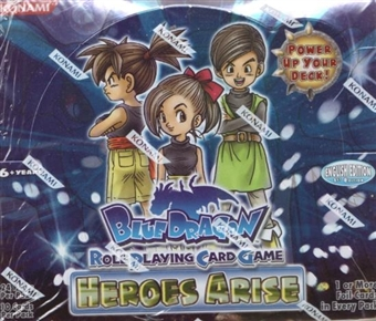 Konami Blue Dragon Heroes Arise Booster Box