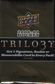 2008/09 Upper Deck Trilogy Hockey Hobby Pack